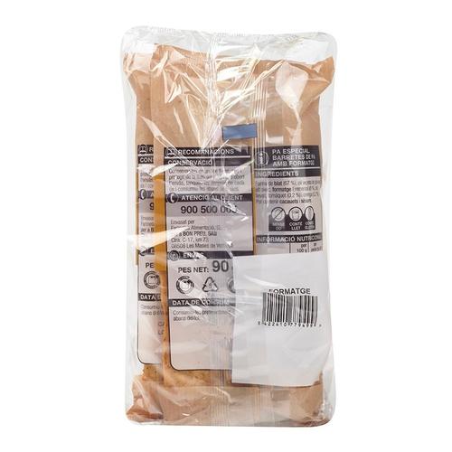 BONPREU Barretes de pa amb formatge