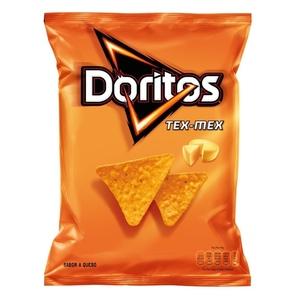 DORITOS TEX-MEX Snacks triangles blat de moro formatge