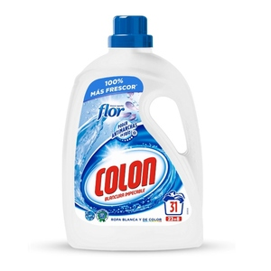 COLON Detergent líquid blancor impecable Flor