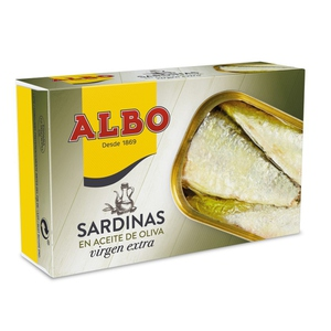 ALBO Sardines en oli d'oliva verge extra