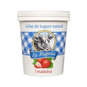 LA FAGEDA Gelat de iogurt natural gust de maduixa