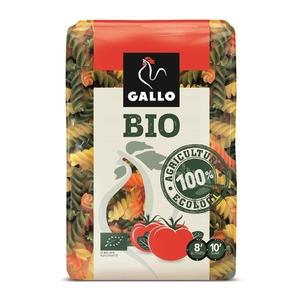 GALLO Pasta vegetal ecològica espirals