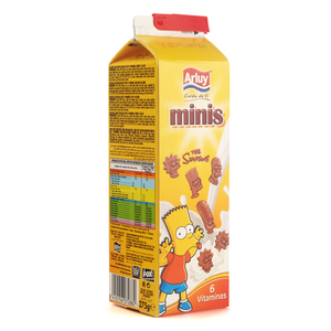 ARLUY Galetes Minis Simpsons 5 cereals