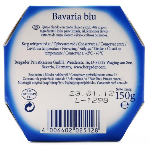 BERGADER Formatge tou blau