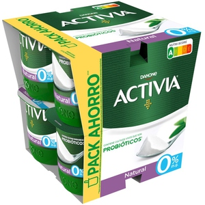 ACTIVIA Iogurt natural 0%