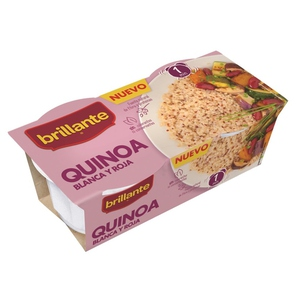 BRILLANTE Quinoa blanca i vermella