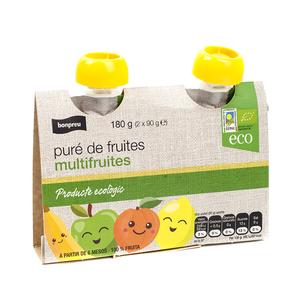 BONPREU Puré de fruites ecològic