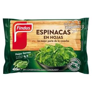 FINDUS Espinacs en fulles