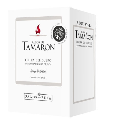 ALTOS TAMARON Caixa de vi negre DO Ribera del Duero
