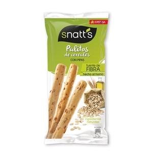 SNATT'S Bastonets de pa amb pipes
