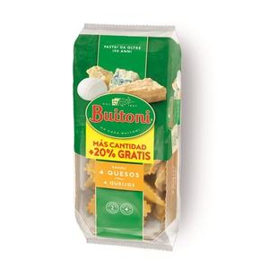 BUITONI Raviolis 4 formatges