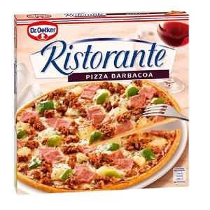 DR. OETKER Pizza Ristorante de barbacoa