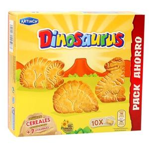DINOSAURUS Galetes de cereals