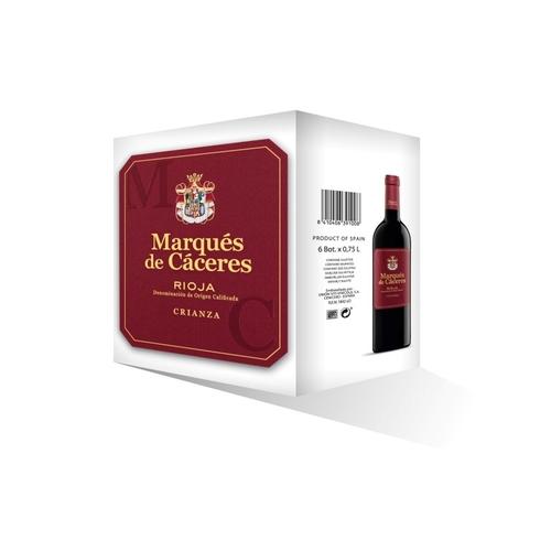 M.CACERES Caixa de vi negre DO Rioja criança