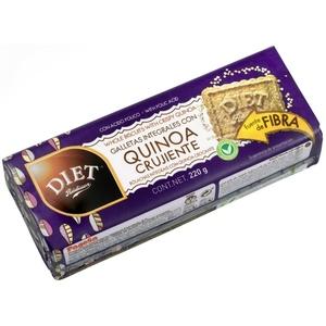DIET RADISSON Galetes de quinoa cruixents