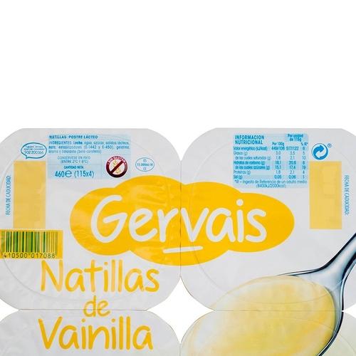 GERVAIS Natilles de vainilla