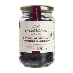 MASROJANA Olives negres arrugades ecològiques
