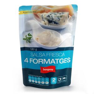 BONPREU Salsa fresca 4 formatges