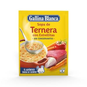 GALLINA BLANCA Sopa de vedella