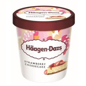 HAAGEN-DAZS Gelat Strawberry Cheesecake