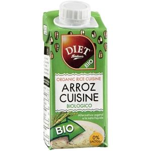 DIET RADISSON Crema d'arròs per cuinar ecològica