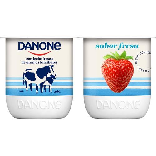 DANONE Iogurt de maduixa