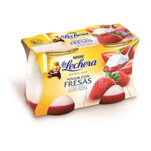 LA LECHERA Iogurt amb maduixa