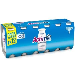 ACTIMEL Iogurt per beure natural desnatat