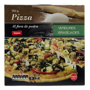 BONPREU Pizza de verdures brasejades