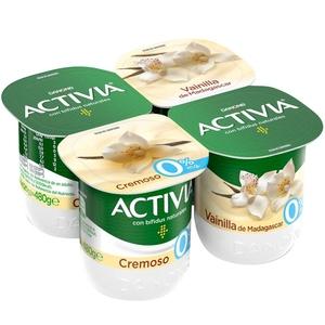 ACTIVIA Iogurt cremós de vainilla 0%