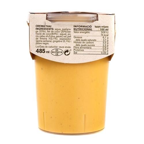 AMETLLER Crema de coco i pastanaga