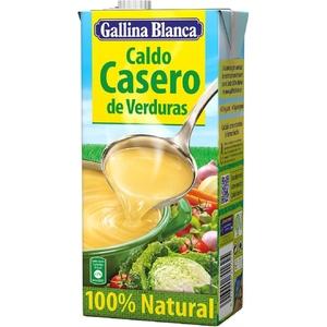 GALLINA BLANCA Brou casolà de verdures