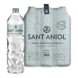 SANT ANIOL Aigua mineral natural 6x1,5L