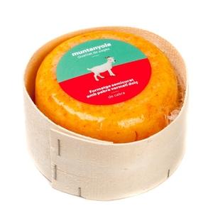 MUNTANYOLA Formatge de cabra amb pebre vermell