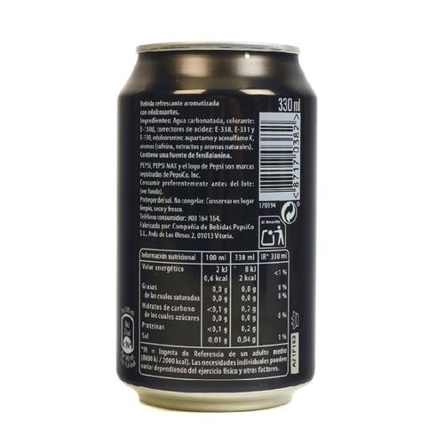 PEPSI MAX Refresc de cola Max Zero sucre