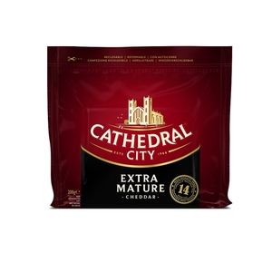 CATHEDRAL CITY Formatge extra mature Cheddar