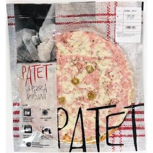 PATET Pizza de pernil dolç Km0