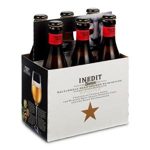 DAMM INEDIT Pack cervesa Inedit 6x33 cl
