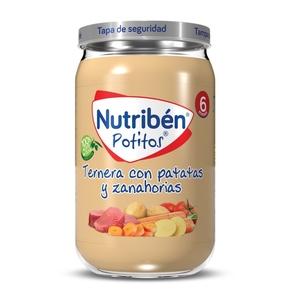 NUTRIBEN Potet de vedella amb patates