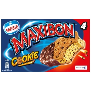NESTLÉ Gelat maxibon cookies