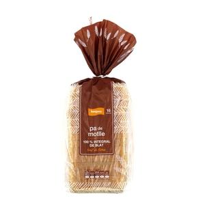 BONPREU Pa de motlle 100% integral de blat