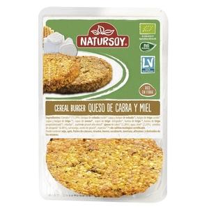 NATURSOY Hamburguesa cereals- formatge cabra eco