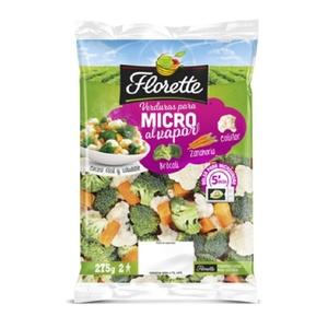 FLORETTE Verdures per microones