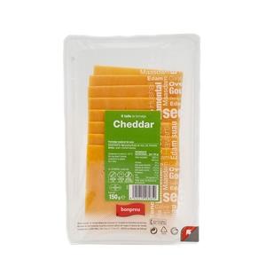 BONPREU Formatge cheddar