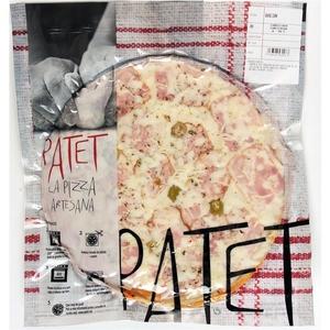 PATET Pizza de bacó