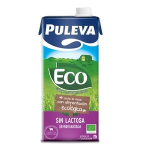 PULEVA Llet sense lactosa semidesnatada eco