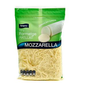 BONPREU Formatge ratllat mozzarella