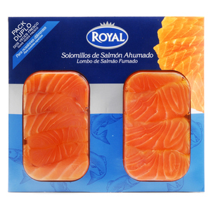 ROYAL Filets de salmó fumat