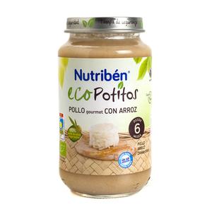 NUTRIBEN Potet de pollastre i arròs ecològic