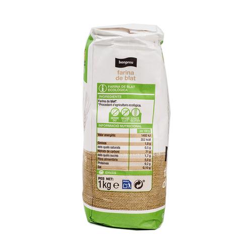BONPREU Farina de blat ecològica